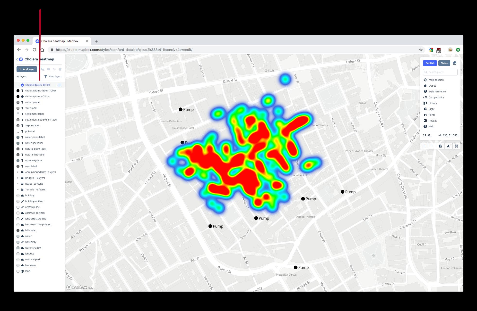 1 Maps with basemaps | Geospatial Visualization